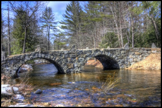 The Carr Bridge by Karen Winterholer